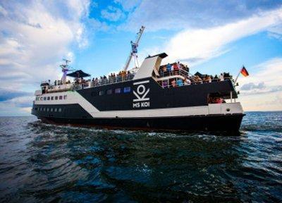 MS KOI - Ein Charter-Schiff mit meisterlichen Möglichkeiten