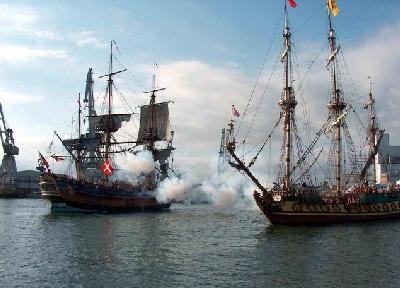 Piraten im Hamburger Hafen!