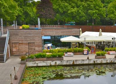 Lounge im Stadtpark