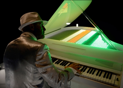 The Sonic light Piano